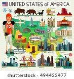 vector set of various united...   Shutterstock .eps vector #494422477