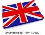 Three Dimensional British Flag...