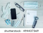 medical equipment with copy