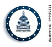 capitol building | Shutterstock .eps vector #494451811