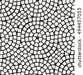 vector seamless pattern. modern ... | Shutterstock .eps vector #494457055