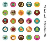collection of badge icons with... | Shutterstock .eps vector #49449556