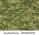 khaki green camouflage texture. ... | Shutterstock .eps vector #494504449