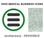 stack icon with 1000 medical...