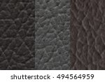 Three Artificiality Leather...