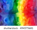 abstract watercolor colorful... | Shutterstock . vector #494575681