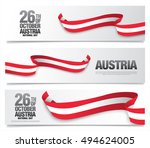 national day in austria  ... | Shutterstock .eps vector #494624005