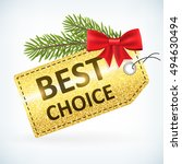 christmas golden glitter best...   Shutterstock .eps vector #494630494