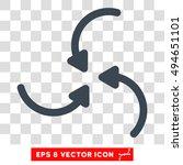 vortex arrows round icon....   Shutterstock .eps vector #494651101