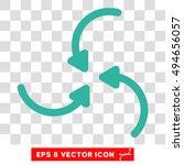 vortex arrows round icon....   Shutterstock .eps vector #494656057