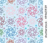 floral abstract background ... | Shutterstock .eps vector #49465939