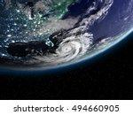 Hurricane Matthew Seen From...
