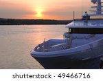 Sunset   Yacht.