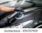 Polished Black Car Polishing...
