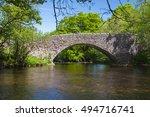 the arche of the stone hump... | Shutterstock . vector #494716741