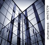 abstract glass side of business ... | Shutterstock . vector #49475779
