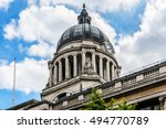 detail of council house   city... | Shutterstock . vector #494770789