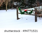 Country Fence Decorated For...