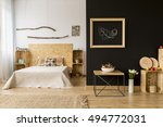 modern style home interior with ... | Shutterstock . vector #494772031