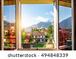 beautiful cityscape view from...   Shutterstock . vector #494848339