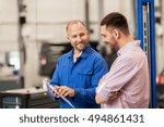 auto service  repair ... | Shutterstock . vector #494861431