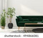 3d illustration of interior... | Shutterstock . vector #494866081