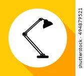 table lamp.  modern desk lamp...   Shutterstock .eps vector #494879521