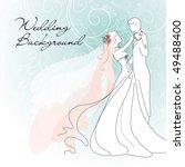 wedding background | Shutterstock .eps vector #49488400