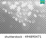 transparent background with... | Shutterstock .eps vector #494890471