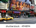 Broadway, New York City - stock photo