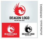 Dragon Logo Design Template ...