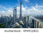 shanghai   aug 13  2015  jin... | Shutterstock . vector #494912821