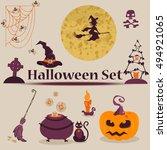 vector illustration. cute...   Shutterstock .eps vector #494921065