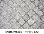 stone street road pavement... | Shutterstock . vector #49493122