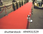 red carpet    is traditionally... | Shutterstock . vector #494931529