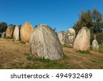 Almendres Cromlech. Megalithic...
