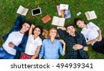 having the best time with... | Shutterstock . vector #494939341