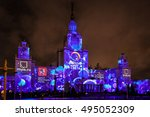 moscow  russia   september ... | Shutterstock . vector #495052309
