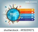 travel infographic....   Shutterstock .eps vector #495059071