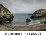 Tintagel Dragon Cave Beach ...