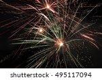 fireworks | Shutterstock . vector #495117094