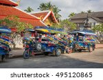 luang prabang  laos   circa dec ... | Shutterstock . vector #495120865