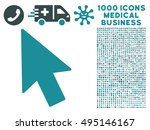 mouse cursor icon with 1000...