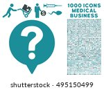 help balloon icon with 1000... | Shutterstock .eps vector #495150499