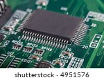 motherboard's green electronic... | Shutterstock . vector #4951576