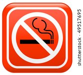 "sign ""no smoking"" | Shutterstock . vector #49517695"