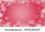 christmas background | Shutterstock . vector #495184207