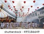 takuapa phang nga thailand 2016 ... | Shutterstock . vector #495186649