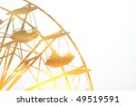 quarter of a panoramic wheel... | Shutterstock . vector #49519591