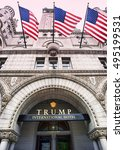 Small photo of Washington, DC. Oct. 6, 2016 : Donald Trump International Hotel built in the old Pennsylvania, Ave Post Office.